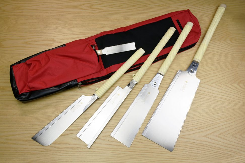 Gyokucho Japanese Saws with Saw Bag