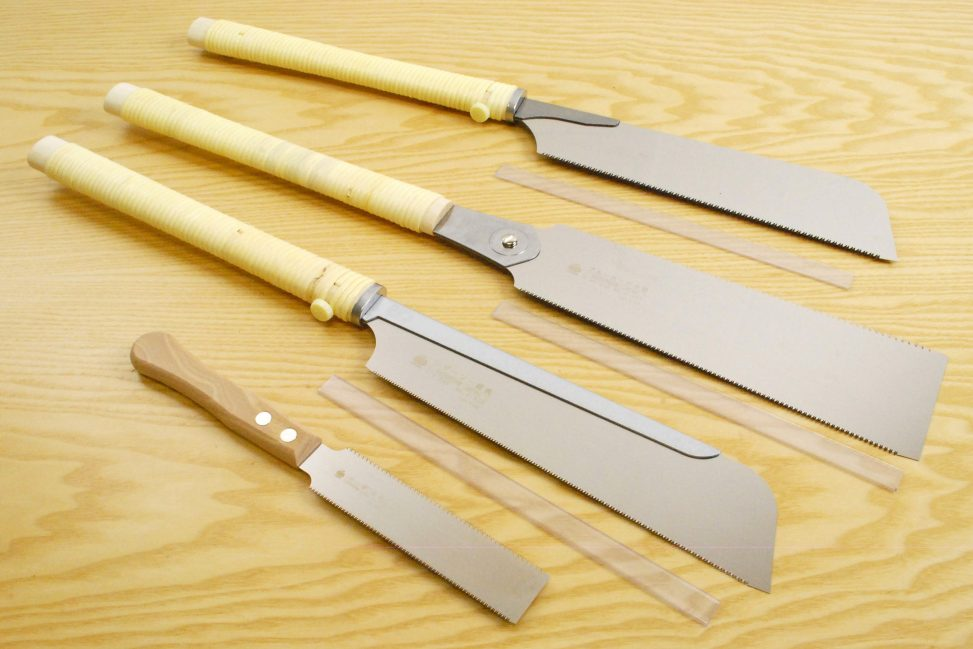 Gyokucho Japanese Saws Set of 4